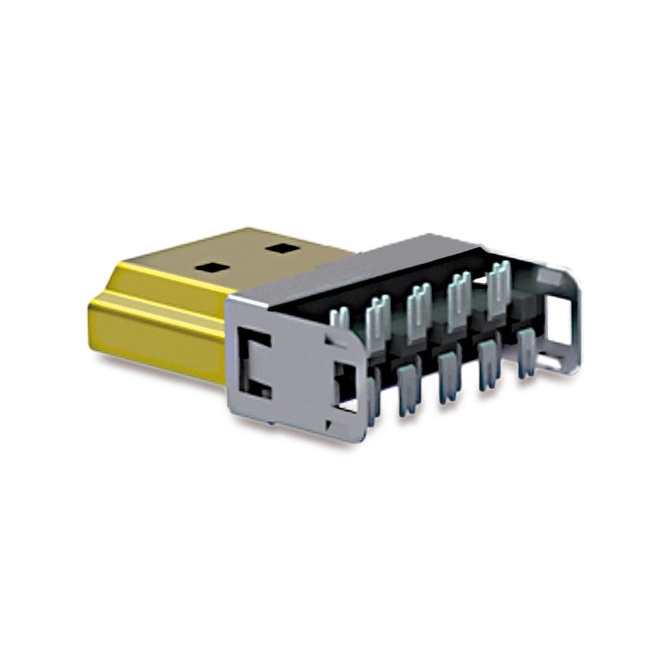 Der Premium HDMI DIY Stecker ohne Gehäuse: PureID ID-CON-CONNECT