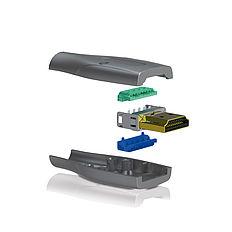 Der DIYS Stecker: PureID ID-CON-PRO mit präzisions Vollmetal-Gehäuse