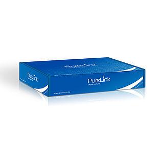 Der PureID ID-HE-1 High Speed HDMI Extender sicher verpackt
