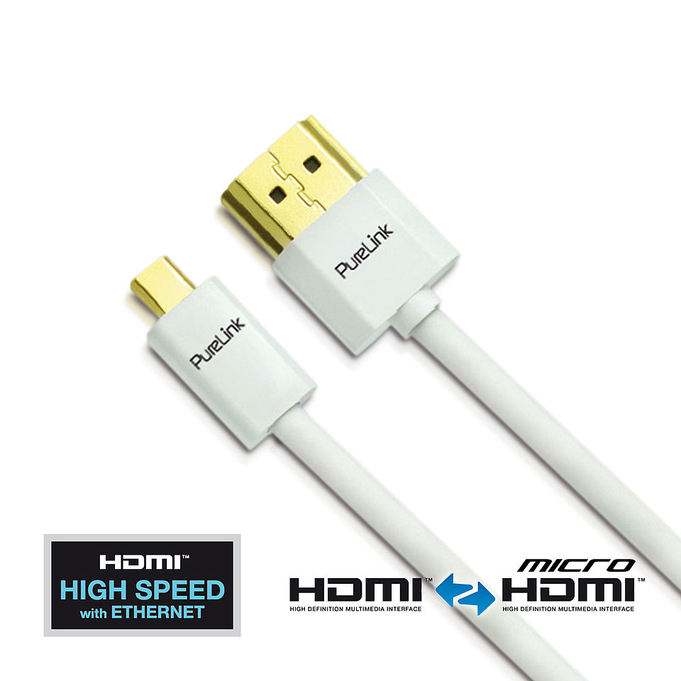 Das ProSpeed PS1740: SuperThin High Speed Micro HDMI Kabel mit Ethernet Kanal