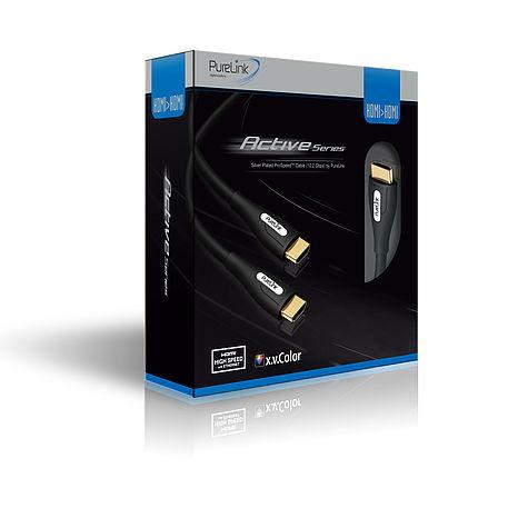 Das aktive HDMI Kabel PS2000 sicher verpackt