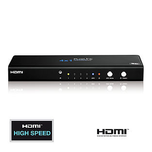 Der ProSpeed PS410: Home Cinema Videoumschalter 4x1 mit HDMI High Speed