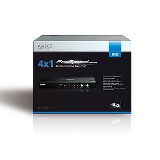 Der ProSpeed PS410 sicher verpackt
