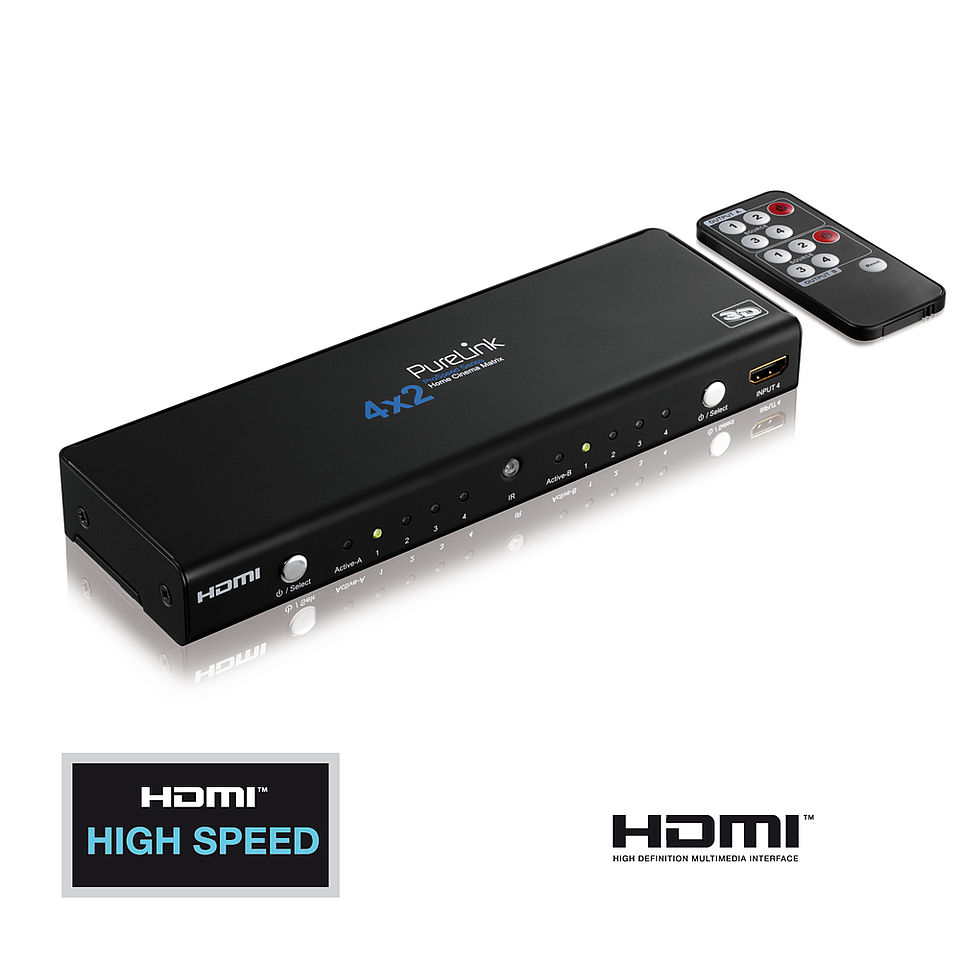 Die ProSpeed PS420: Home Cinema Videomatrix 4x2