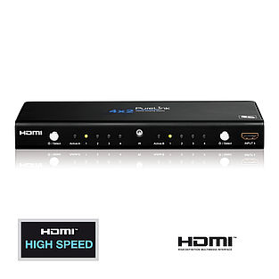 Die ProSpeed PS420: Home Cinema Videomatrix 4x2 mit HDMI High Speed