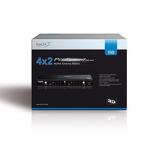 Die ProSpeed PS420 sicher verpackt