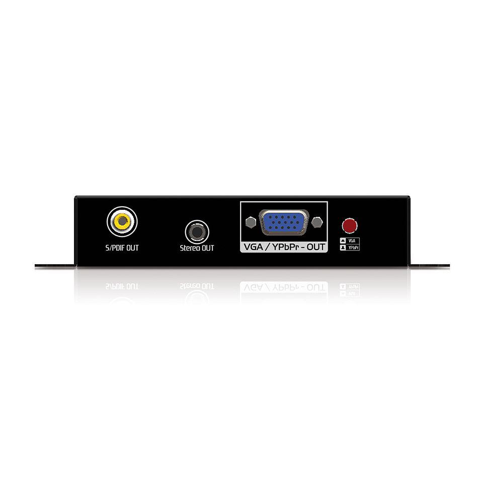 Der PureTools PT-C-HDDVVGA HDMI/DVI zu VGA Konverter