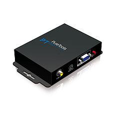 Der PureTools PT-C-HDDVVGA HDMI/DVI zu VGA Konverter wandelt HDMI und DVI in VGA Signale inkl. Stereo und Digital Audio um