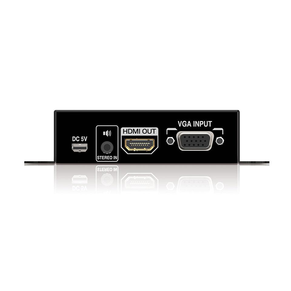 Der PureTools PT-C-VGAHD VGA zu HDMI Scaler