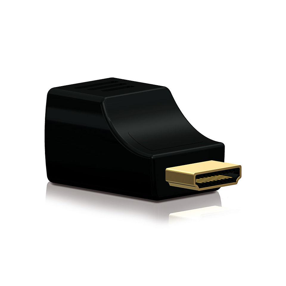 Der PureTools PT-E-HD01R HDMI/Cat.X Extender Receiver