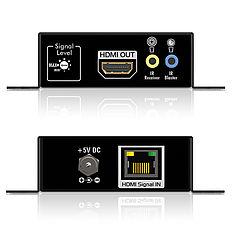 Das PureTools PT-E-HD10 HDMI/IR/Cat.X Set mit CEC und DHCP Unterstützung