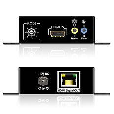 Das PureTools PT-E-HD10 HDMI/IR/Cat.X Set mit bidirektionaler IR Signalübertragung