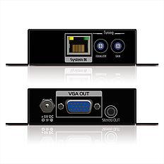 Das PureTools PT-E-VG20 VGA/Cat.X Extender Set überträgt Signale bis 330m