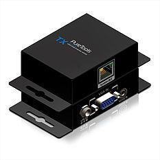 Das PureTools PT-E-VG20 VGA/Cat.X Extender Set mit regelbarem Signalverstärker