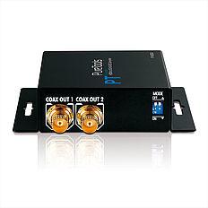 Der PureTools PT-C-HDSDI HDMI zu 3G/HD-SDI Konverter unterstützt HDMI inkl. Deep Color und HDTV Auflösungen bis FullHD