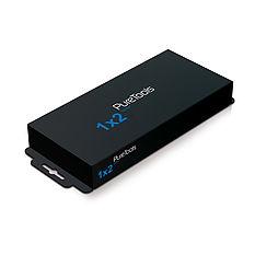 Der PureTools PT-SP-HD12-4K HDMI 1x2 Verteiler für 3D, Deep Color und HDTV Auflösungen bis 4K