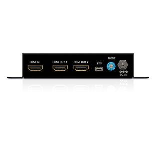 Der PureTools PT-SP-HD12-4K HDMI 1x2 Verteiler mit HDCP 1.2 Unterstützung