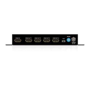 Der PureTools PT-SP-HD14-4K HDMI 1x4 Verteiler mit HDCP 1.2 Unterstützung