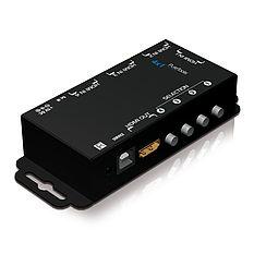 Der PureTools PT-SW-HD41 HDMI 4x1 Switcher für Deep Color und HDTV Auflösungen bis 1080p