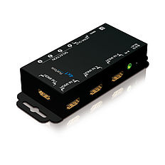 Der PureTools PT-SW-HD41 HDMI 4x1 Switcher mit DHCP 1.2 Unterstützung