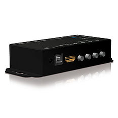 Der PureTools PT-SW-HD41 HDMI 4x1 Switcher mit RS-232 Port