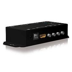 Der PureTools PT-SW-HD41 HDMI 4x1 Switcher mit RS-232 Port