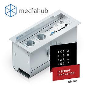 mediahub™ von PureLink gewinnt Iconic Award Interior Innovation