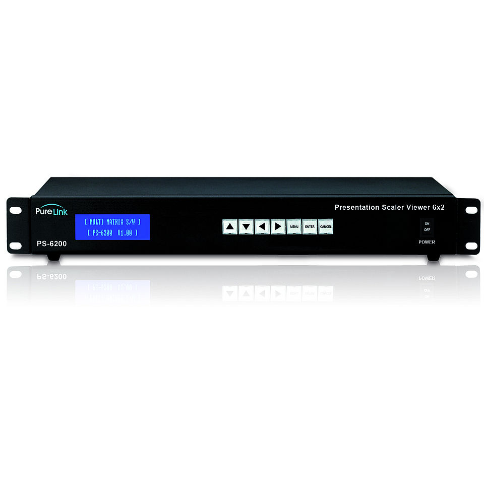 PRO-PS-6200: HDMI 6x2 Hybrid-Matrix