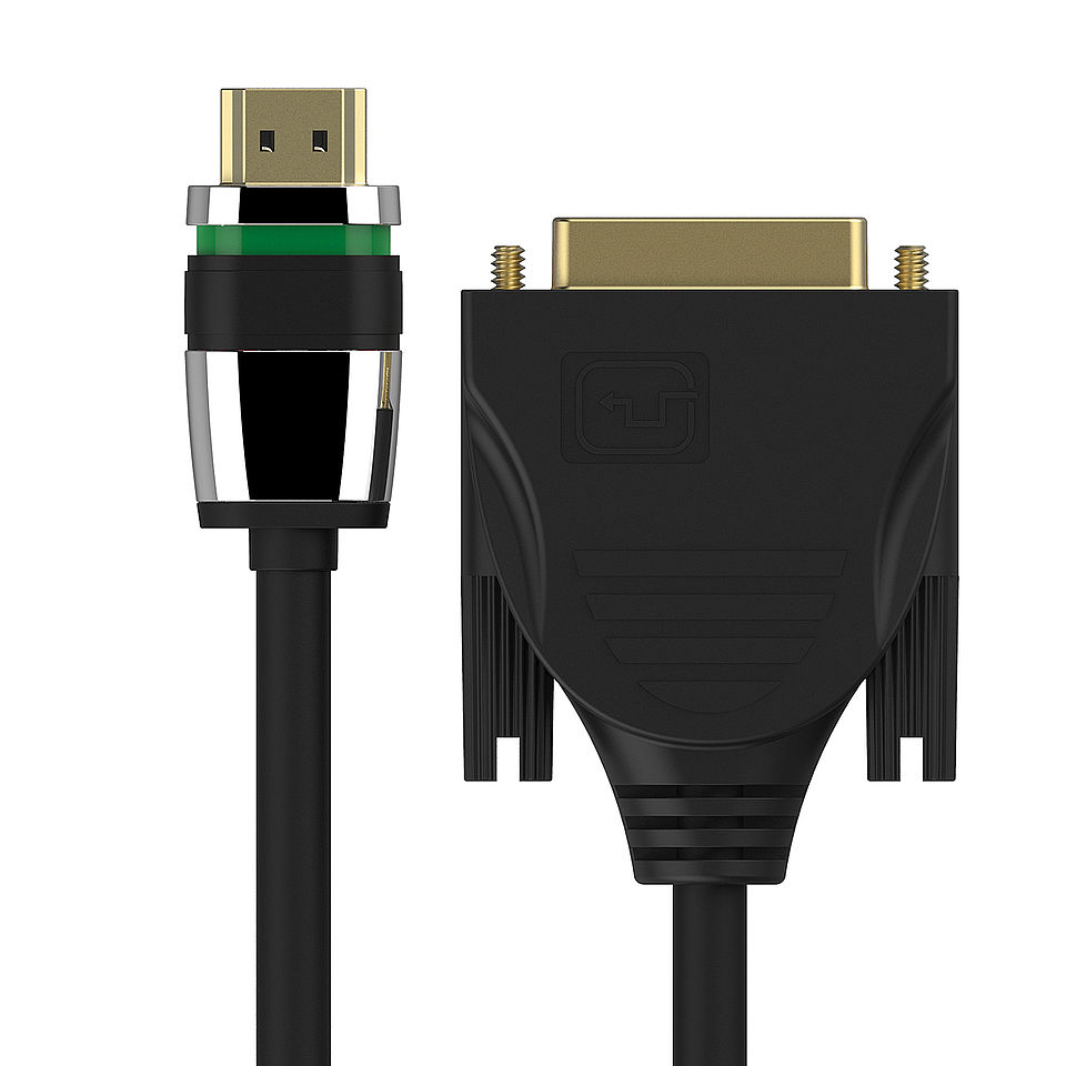 ULS1300 - HDMI / DVI Verbindungskabel mit Ultra-Lock-System