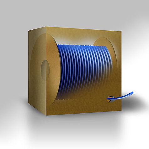 FX-SC Fiber / Glasfaser Kabel mit SC Steckern