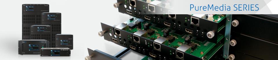 PureMedia Serie - Modulare Matrix Kreuzschienen von PureLink